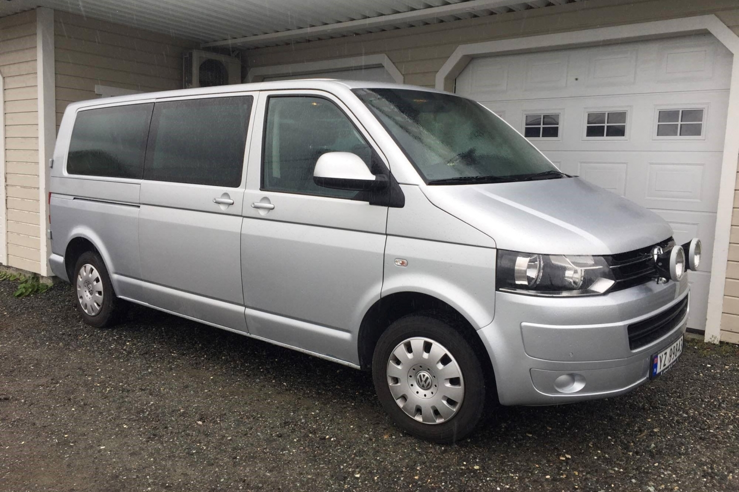 The mini van