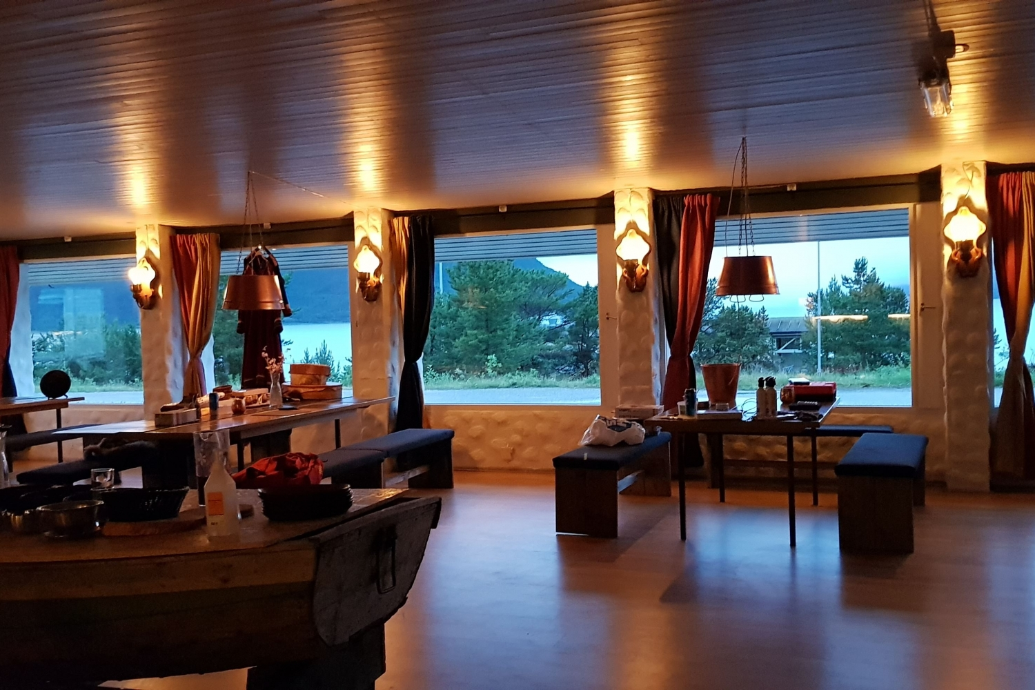 Inside of Skibotn Hotel